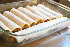 Shredded Chicken Enchiladas - Ready To Bake