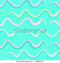 #Bright #seamless #wavy #line #pattern #vector #illustration. #3D #vector #background of #abstract waves.