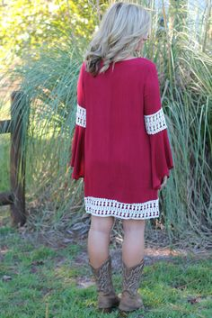 Careless Love Dress: Wine - Off the Racks Boutique