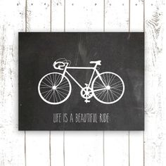 Chalkboard Art Print Printable File by MooseberryPrintables, $5.00