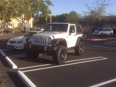 JK Show & Tell - White JK's w/ post pics - All of you with white JK's please post your pics. Two Door Jeep Wrangler, 2 Door Jeep, Jeep Wrangler Sport, Jeep Jk, 35 Inch Tires, S Car, Top Destinations, Future Car, Dream Cars