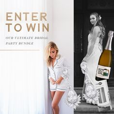 The Ultimate Bridal Party Bundle Giveaway - This is your chance to win the perfect Bridal Party Bundle.