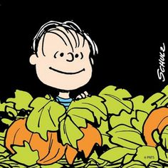 Waiting for The Great Pumpkin.