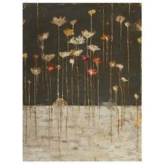 Evening Bouquet Canvas Wall Art