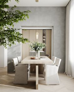 dining room Dinner Room, Outdoor Furniture Sets, Outdoor Decor, Interior Design Kitchen, Interior Design Inspiration, Interior Styling, Modern Decor, Bedroom Decor, New Homes