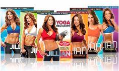 Jillian Michaels DVD Workout Collection (6-Pack) BRAND NEW | Sporting Goods, Fitness, Running & Yoga, Fitness DVDs | eBay!