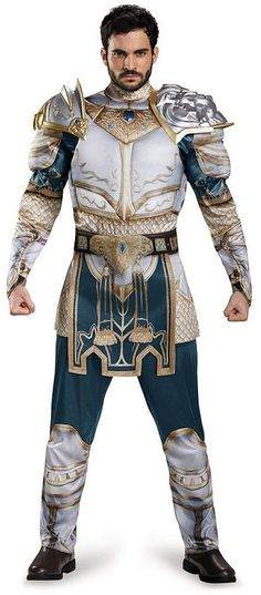 Adult X-Large Warcraft King Llane Classic Muscle Costume