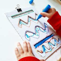 Strokes, doodles and graphomotricity Motor Skills Activities, Preschool Learning Activities, Infant Activities, Preschool Activities, Preschool Writing, Toddler Fun, Kids Education, Kids And Parenting, Ideas Sencillas