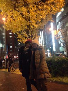 FUKUOKA 銀杏の木