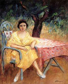 New Zealand Art pantings For Sale Henri Lebasque Woman in the Garden - Renoir, Art Français, Composition Art, New Zealand Art, France Art, Impressionist Artists, Post Impressionism, Henri Matisse, French Artists