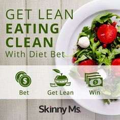 "Join the ""Get Lean Eating Clean"" Dietbet beginning March 30 and invite a friend using the invite tool within the game to enter to win a Fitbit Flex! Lose 4% of your weight in 4 weeks and WIN MONEY too! #Dietbet #weightloss"