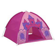 Princess Castle Play Tent Toddler Pop Up Tunnel Kids Hut Carry Case Dome Frozen #Giga