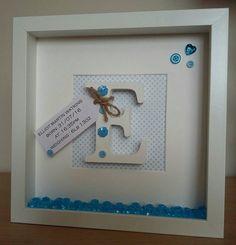 Scrabble wall Art Baby Boy/Girl nameChristening gift New