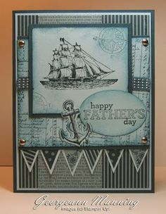 Stampin' Everything!: Yay! Another Masculine Card!