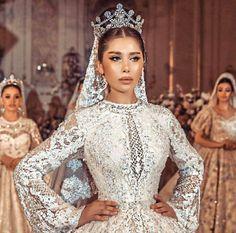 Bridal Tiara, Bridal Crown, Headpiece Wedding, Bridal Headpieces, Wedding Gowns, Wedding Earrings, Beautiful Bridal Dresses, Elegant Wedding, Dream Wedding