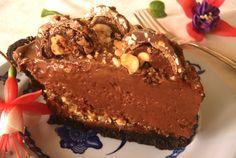 Hazelnut Praline Nutella Pie