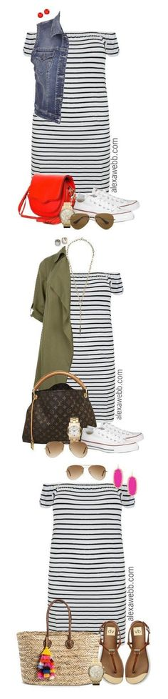 Trendy fashion outfits plus size skirts Outfits Plus Size, Dress Plus Size, Plus Size Skirts, Plus Size Casual, Striped Dress Outfit, Dress Outfits, Cute Outfits, Stripe Dress, Summer Fashion Outfits