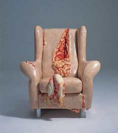 The most wonderfully disgusting chair.