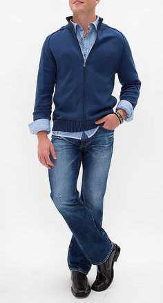 Complete outfits on one page! Shop each look and pick your favorite fashion pieces; Fashion For Men Over 50, Mature Mens Fashion, Jeans For Men Over 50, Casual Clothes For Men Over 50, Sharp Dressed Man, Well Dressed Men, Stylish Men, Men Casual, Teenage Boy Fashion