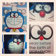 100 years before the birth of Doraemon Kawaii #doraemon#kawaii#cat#robot#japan#blue#cartoons#cute - @edimundson   Webstagram
