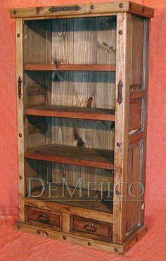 Log Cabin Furnishings Bookshelves Cabin Fever Pinterest - Large bookshelves