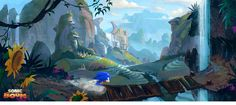 Sonic Boom: Concept Arts por Travis Ruiz | THECAB - The Concept Art Blog