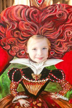 The Queen of Hearts Photo Prop