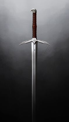 Trell's Sword, Alex Jessup – katana Fantasy Sword, Fantasy Weapons, Fantasy Blade, Swords And Daggers, Knives And Swords, Sword Hilt, Cool Swords, Sword Design, Armadura Medieval