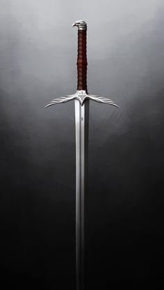 Trell's Sword, Alex Jessup on ArtStation at https://www.artstation.com/artwork/E9vxK