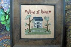 Love at Home - Cross Stitch Pattern