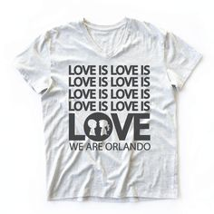 """Boy Meets Girl® is showing our support for the LGBTQ community with these limited tees showing love has no boundaries; introducing the """"Love is Love"""" tee. Order"""