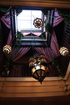 lanterns, skylight