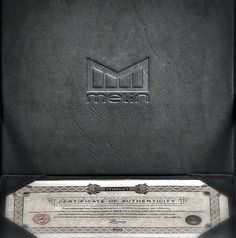 Certificate of Authenticity  III Luxury I Snapback I Hat I Hats I Melin Brand