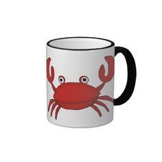 Crabby Without Coffee Breaks coffee mug