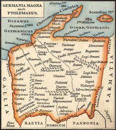 Magna Germanica by Ptolemæus.