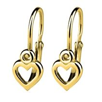 Zlaté dětské náušnice - srdíčka Bathroom Hooks, Gold Rings, Jewelry, Jewlery, Jewerly, Schmuck, Jewels, Jewelery, Fine Jewelry