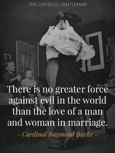 The Love of a Man and Woman in Marriage - Love this and the image; that is so us!  Dancing all over the place...
