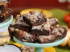 German Chocolate Cake Bars - Cupcake Diaries