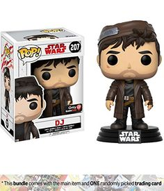 b69fe517bbd6 DJ (GameStop Exclusive)  Funko POP! x Star Wars - The Last Jedi