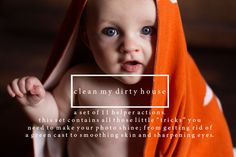 Clean My Dirty House PS Actions by Erin Hensley Photography on Creative Market
