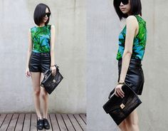Coconut forest (by IAN CHEN) http://lookbook.nu/look/3963744-Coconut-forest