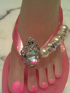 From The Deep Collection:  Orchid the Octopus.  Designed on a Pink Kitten heel  By Flipinista, Your BFF  Registered Trademark <3