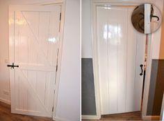 Landelijke deur / Houten boerderij binnendeur / Paneeldeur. Meer info: d.verbeeten@hotmail. com