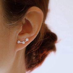 e993bc852 attic. Ear StudsAtticCherryFansSundayLoftsDomingoJacket EarringsStud  Earrings. sterling silver ...