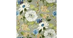 This fabric is a beautifully printed high quality indoor and outdoor fabric made for sunny and shaded locations. Featuring a design of floral blooms and scattered foliage and buds on a solid colour background.Suitability includes:Soft furnishings - cushion and slip covers, chair pads, indoor a