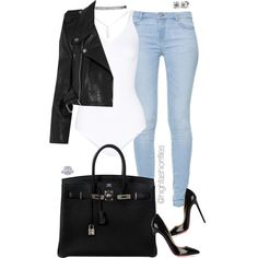 Plain & Simple by highfashionfiles on Polyvore featuring Vetements, Zara, Yummie by Heather Thomson, Christian Louboutin, Hermès and Wet Seal