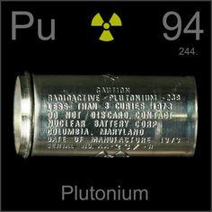 Plutonio Elemento quimico - 94 Pu