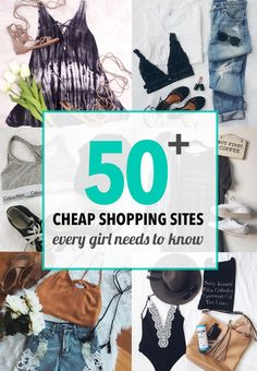 50 Cheap Shopping Sites Every Girl Needs To Know – SOCIETY19