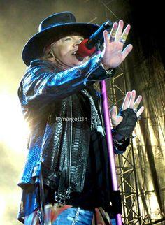 Axl Rose of Guns N' Roses, New Orleans, summer 2016 #axlrose #rockicon #rockstar #gnr #gunsnrosesreunion #notinthislifetimetour