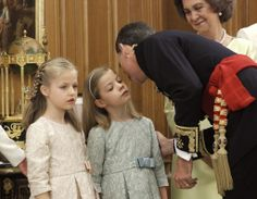 Official coronation ceremony of King Felipe VI in Madrid. -Ceremony at the Zarzuela Palace